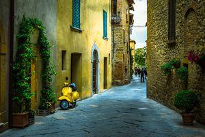 Street of Pienza