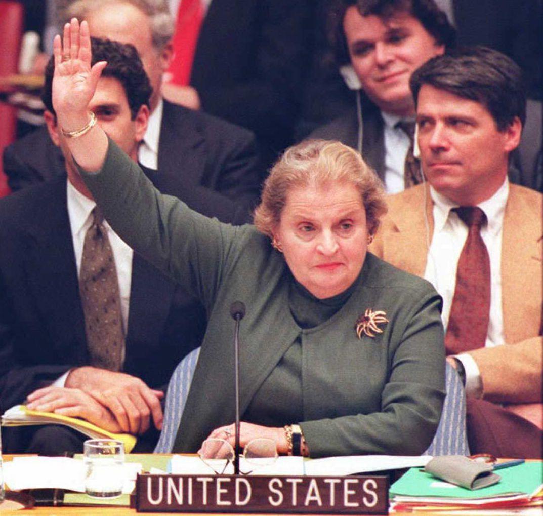 Madeleine Albright, US Ambassador to the United Nations