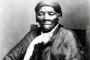 Harriet Tubman, American anti-slavery activist, c1900. Harriet Tubman (c1820-1913) was born into slavery in America. She escaped in 1849, became a leading Abolitionist and was active as a 'conductor' in the Underground Railroad, the network which helped escaped slaves to reach safety.