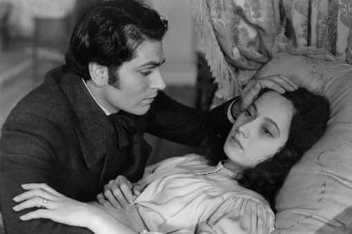 Laurence Olivier And Merle Oberon In 'Wuthering Heights'