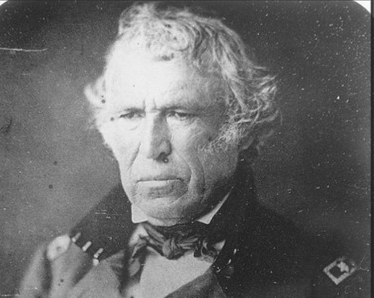 Major General Zachary Taylor during the Mexican-American War