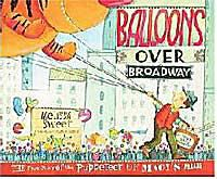 Cover of Balloons Over Broadway by Melissa Sweet