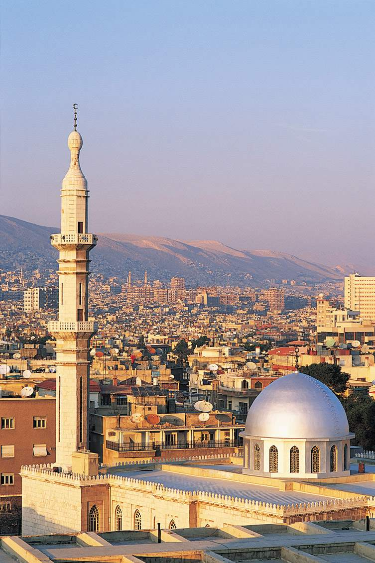 Damascus is one of the oldest continuously inhabited cities on Earth