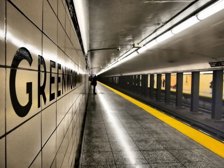 Greenwood Subway Station Toronto