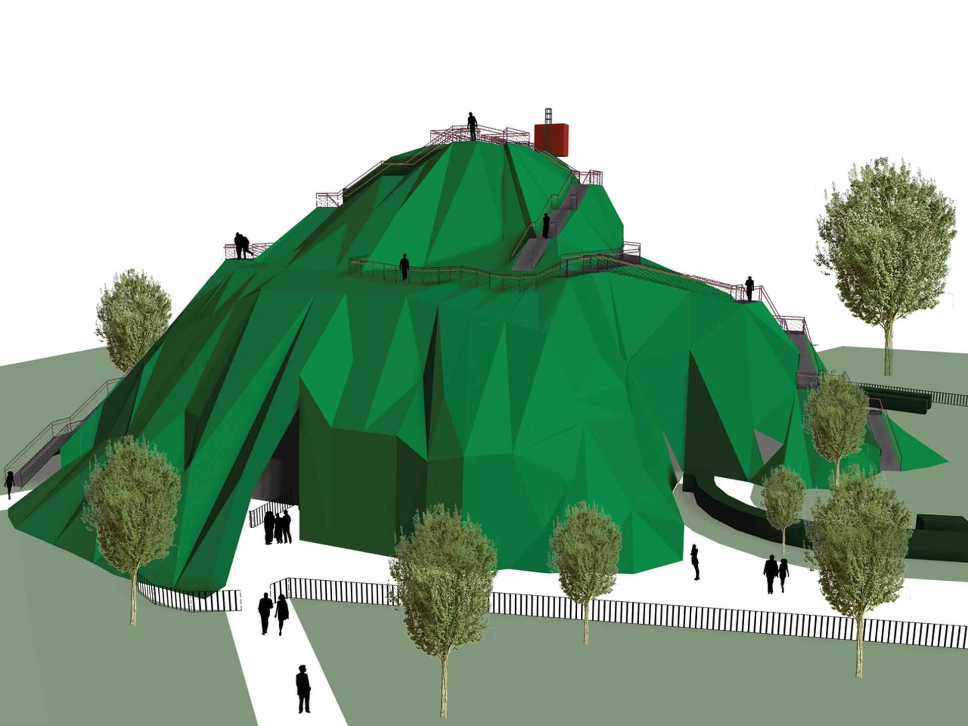 MVRDV - Serpentine Pavilion