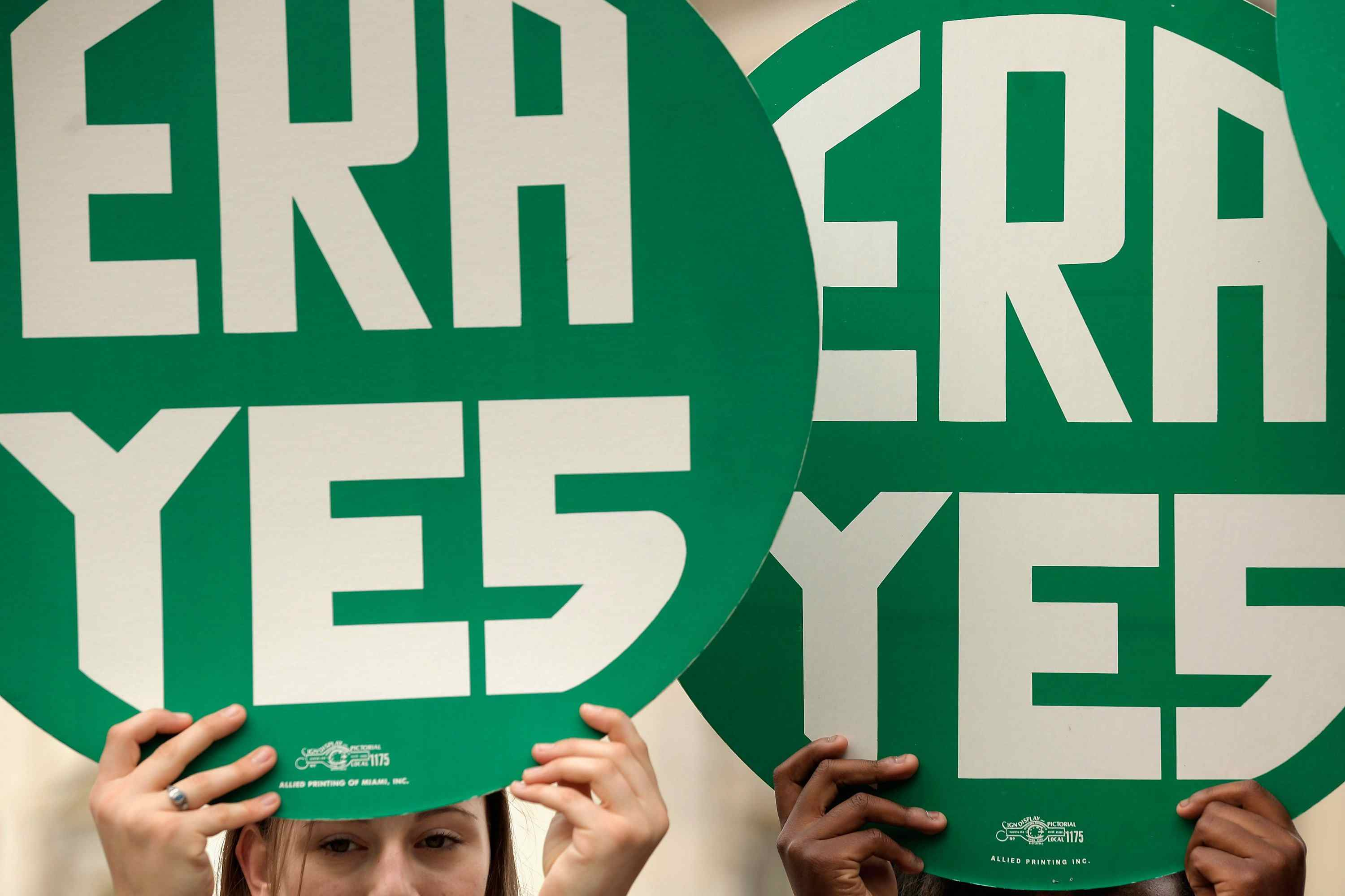 ERA Yes signs