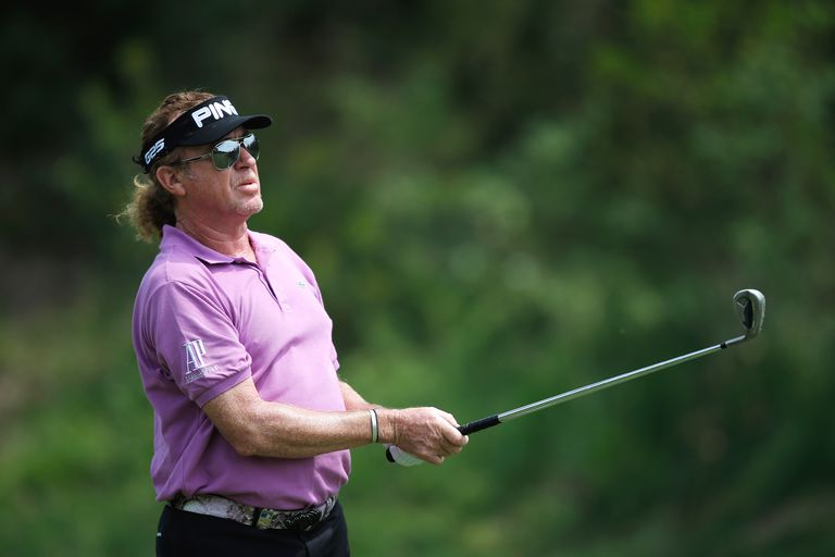 Miguel Angel Jimenez at the 2014 Spanish Open