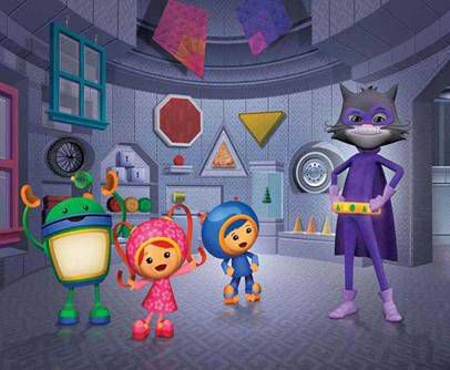 """Team Umizoomi vs. The Shape Bandit"""