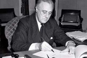 Lend-Lease Act Signing