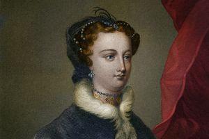 Portrait of Mary Stuart
