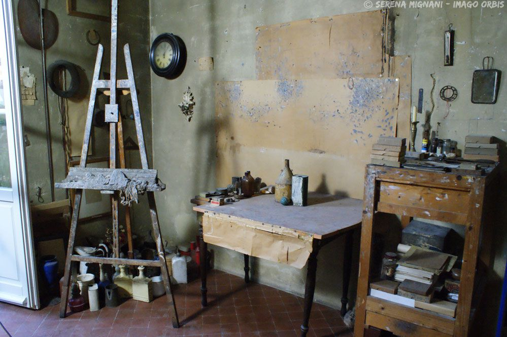 Famous artist Morandi paintings