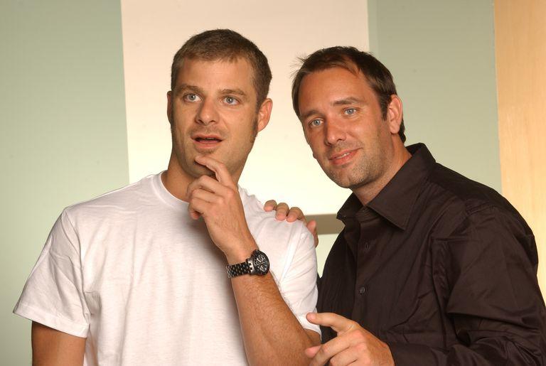 Matt Stone and Trey Parker - 2005