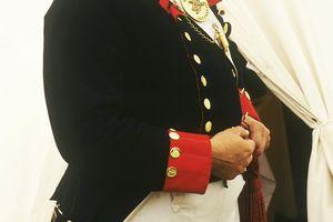 British Royal Artillery Officer 1815