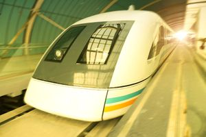 Maglev train in Shanhgai China