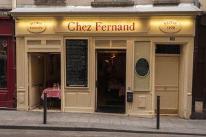 Chez Frenand French restaurant