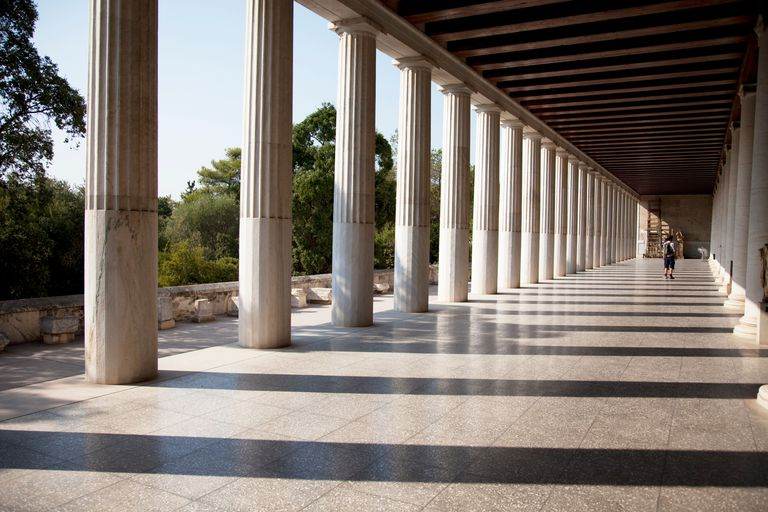 The Stoa of Attalos or Attalus