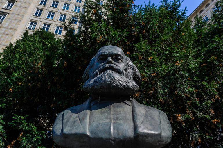 Karl Marx bust, Berlin, Germany