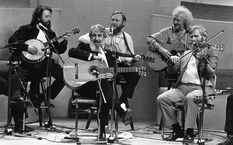 The Dubliners on The Late Late Show, 1987