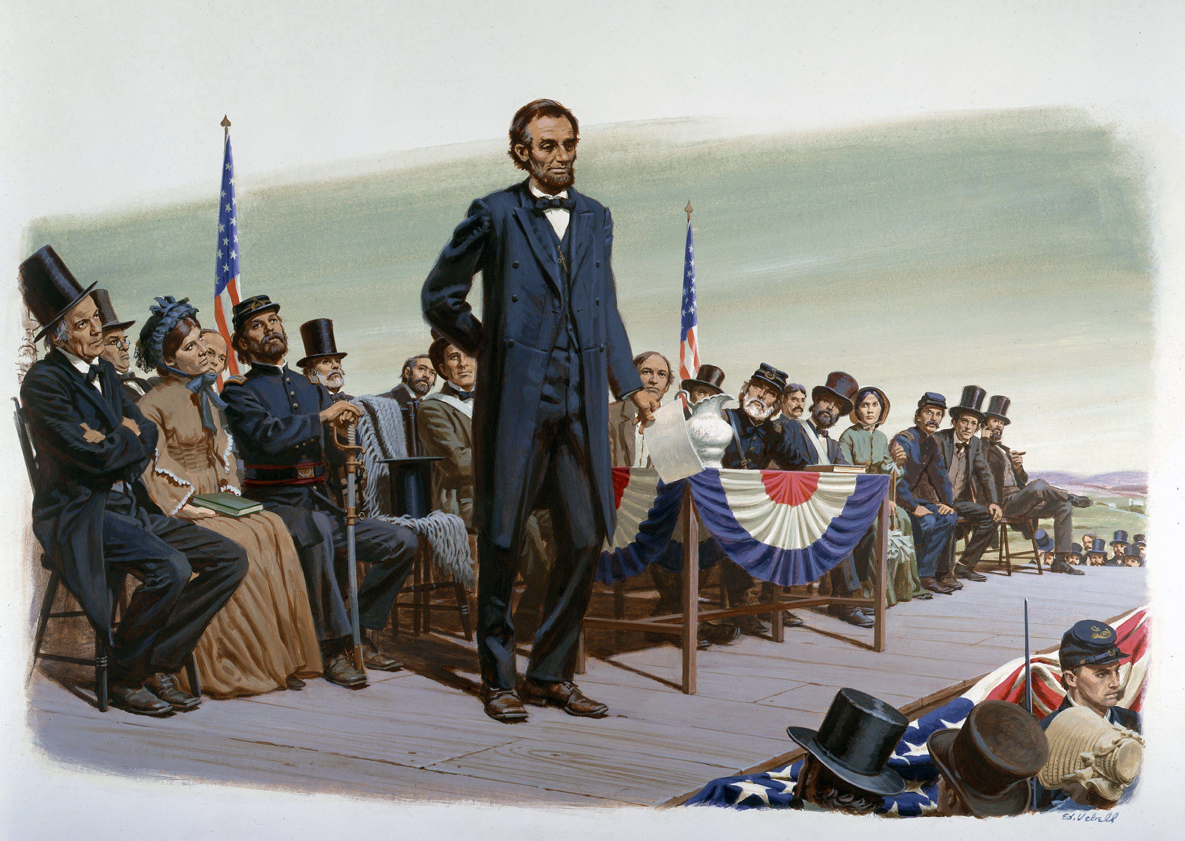 president lincolns speech - HD3802×2700