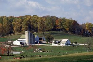 "A farm in Pennsylvania ""German"" Country."