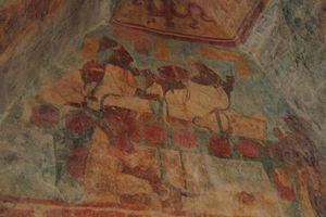 Bonampak Murals, Room 3: Royal Family Performing a Bloodletting Ritual