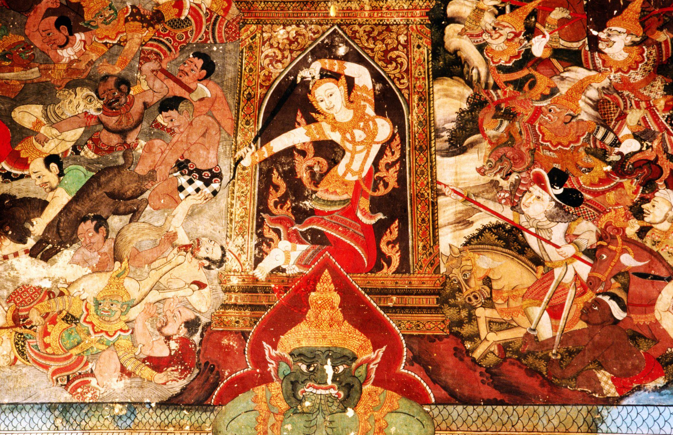 O Brien Auto >> The Demon Mara, Who Challenged the Buddha