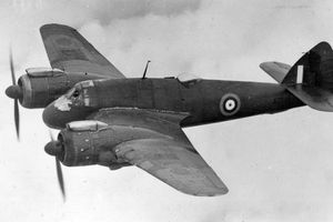 Bristol Beaufighter black and white photo