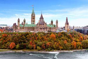 Parliament Hill in Ottawa
