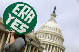Rally At U.S. Capitol Celebrates 40th Anniversary Of Congressional Passage Of ERA