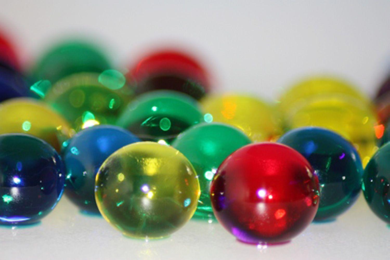 Polymer balls