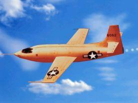 Bell X-1 in flight