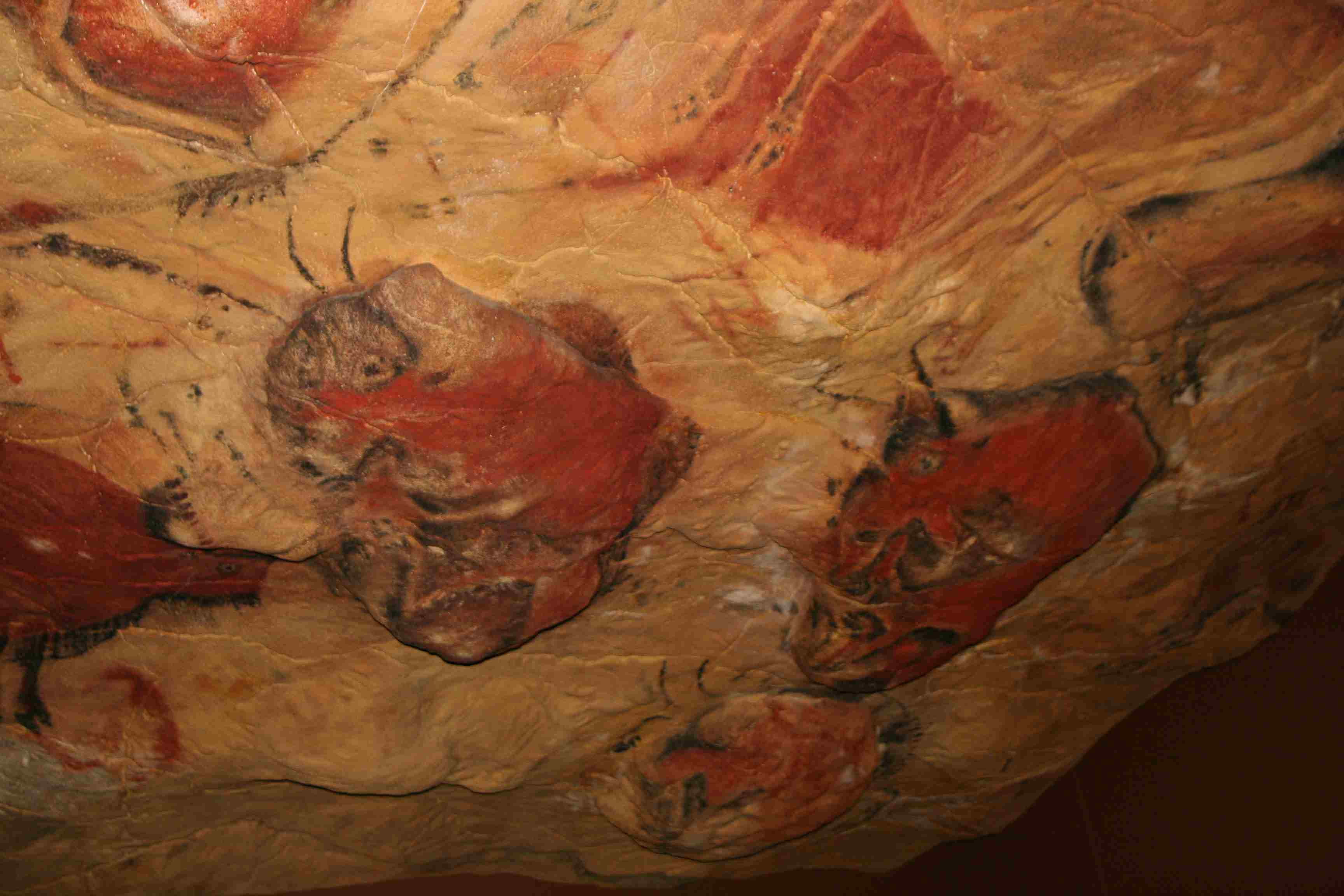 Altamira Cave Painting - Reproduction at the Deutsches Museum in Munich
