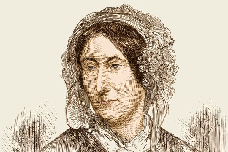 Illustration of Mary Somerville
