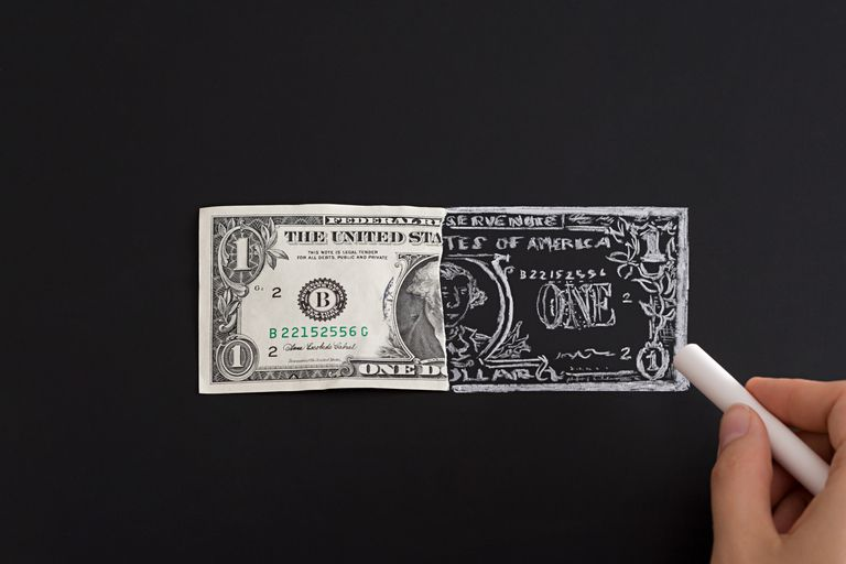 Counterfeiting money