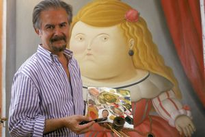 Colombian Painter and Sculptor Fernando Botero