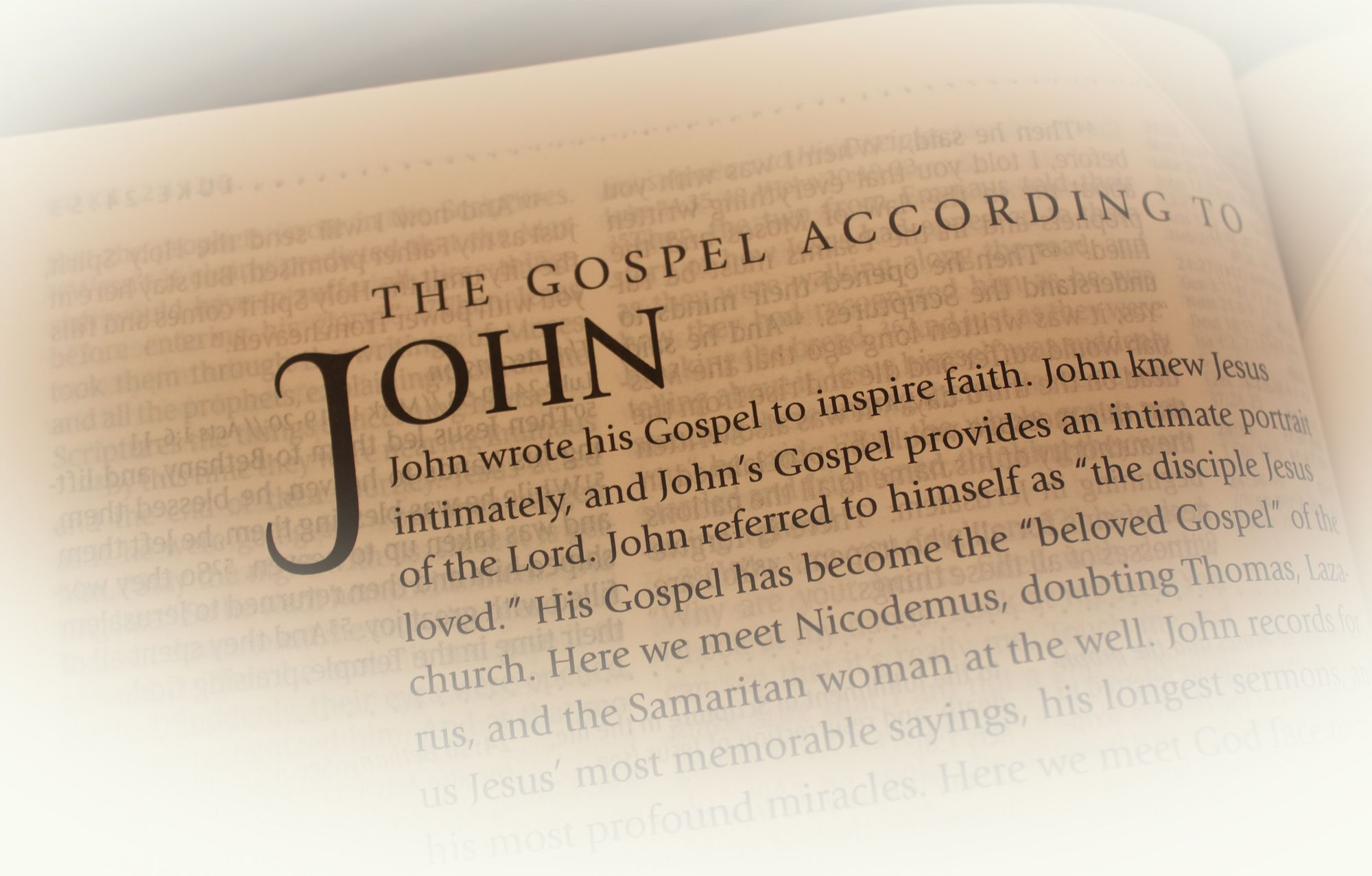 Introduction to the Gospel of John Bible Study