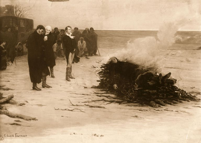 Burning Of Shelley