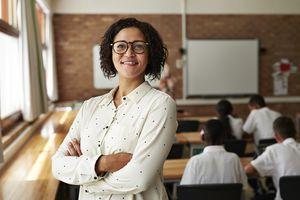 A confident teacher