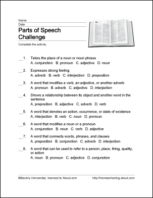 Parts of speech word search crossword puzzle and more ibookread PDF