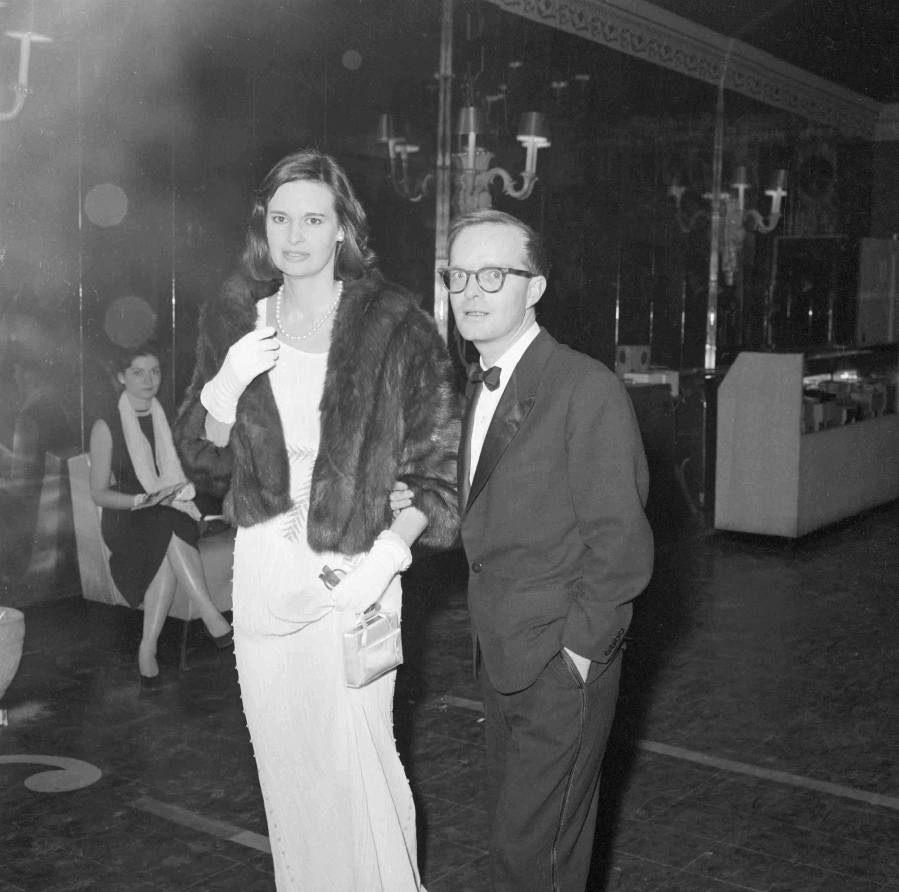 Gloria Vanderbilt y Truman Capote