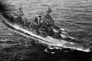 USS Texas (BB-35) during World War II