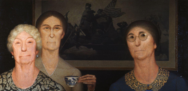 grant wood daughters of revolution