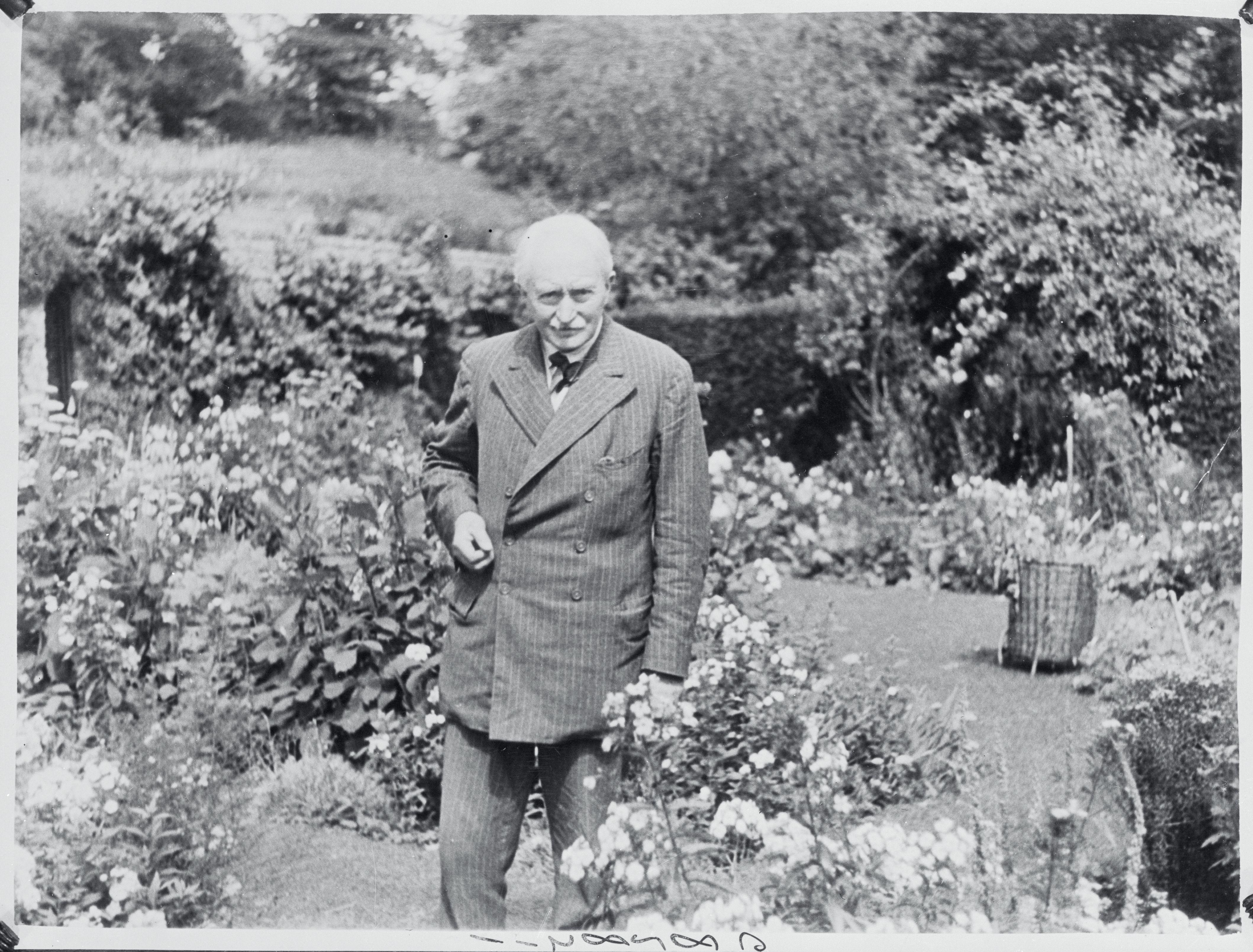 Portrait of Poet Laureate of England John Masefield