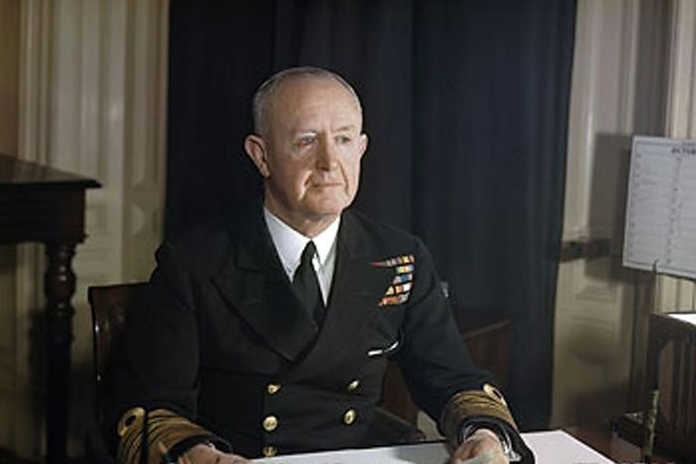 Admiral of the Fleet Andrew B. Cunningham, 1st Viscount Cunningham of Hyndhope