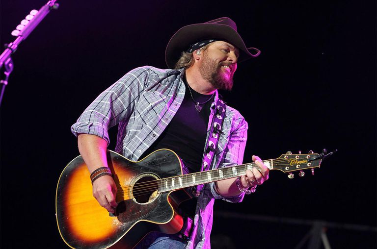 Toby Keith performs during Stagecoach: California's Country Music Festival 2010 at The Empire Polo Club in Indio, California.