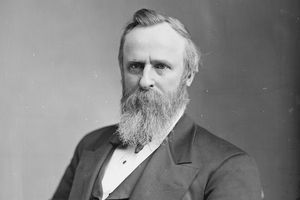 Photographic portrait of Rutherford B. Hayes