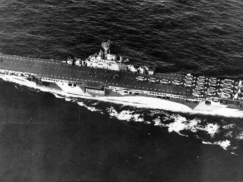 USS Yorktown (CV-10) in World War II