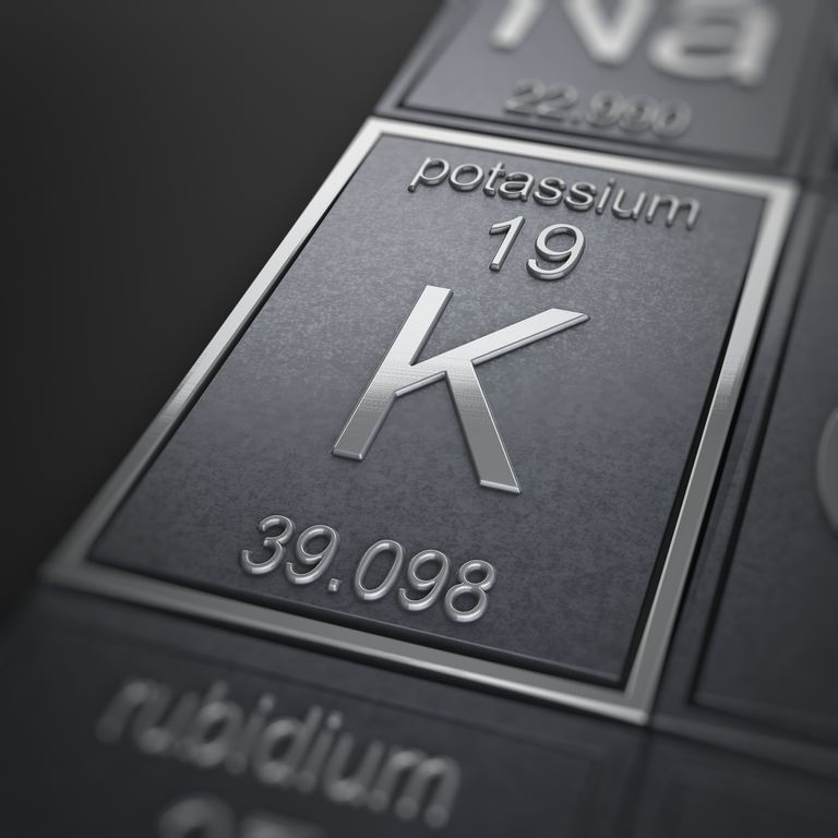 Potassium periodic table of the elements facts potassium science picture cogetty images urtaz Image collections