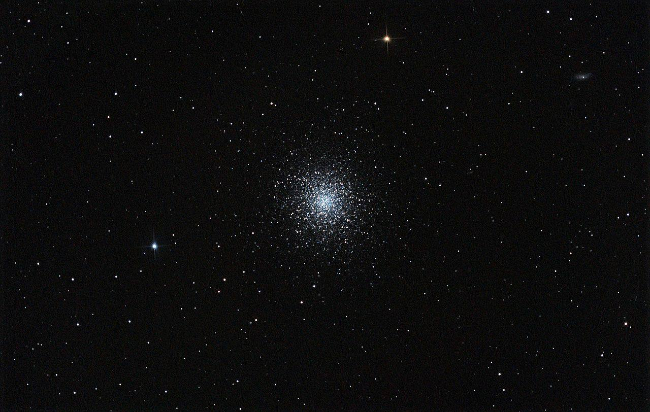 M13 globular cluster in the Hercules constellation