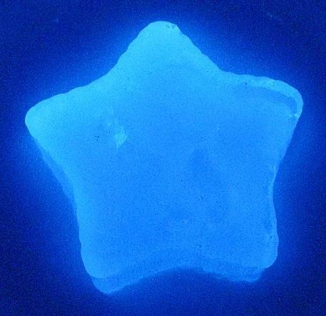 It's easy to make glowing gelatin.